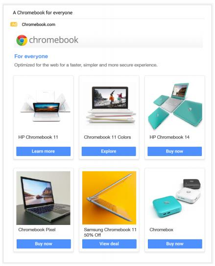 Gmail reklama GSP 4